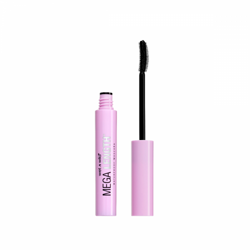 MEGA LENGTH WATERPROOF MASCARA - Very Black E161B