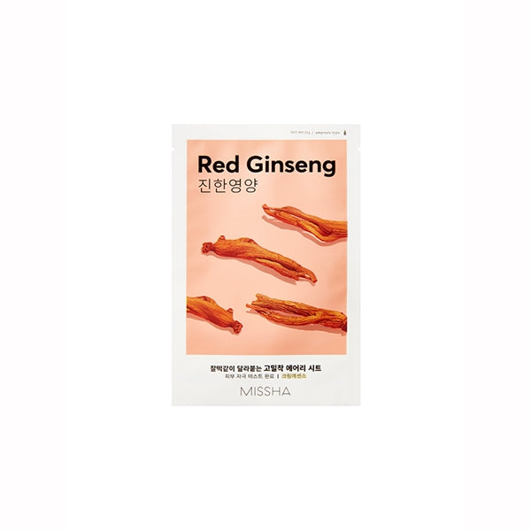 Missha Airy Fit Mask Sheets Ginseng
