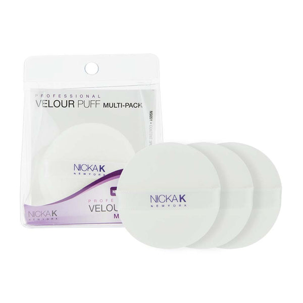 NICKA K VELOUR PUFF MULTI-PACK