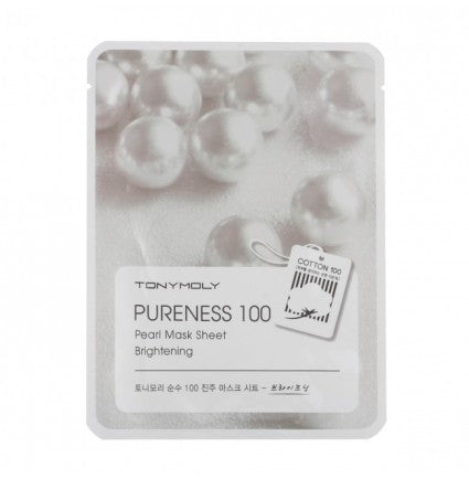 TONYMOLY Pureness 100 Pearl Mask Sheet Brightening