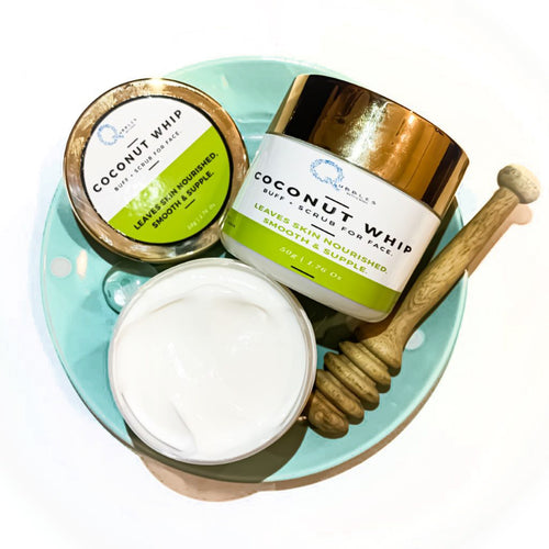 COCONUT WHIP Buff + Scrub for face