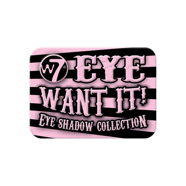 W7 Eye Want It! Eyeshadow Collection