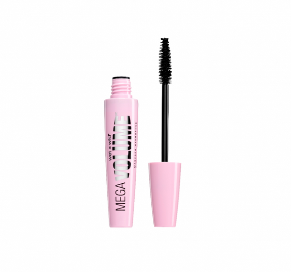 MEGA VOLUME WATERPROOF MASCARA - Very Black E157A