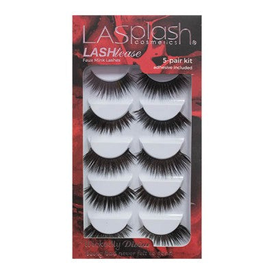 LASHTEASE 15817: WICKEDLY DIVINE SYNTHETIC MINK FAUX LASHES