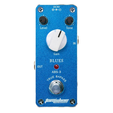 Aroma ABS-3 Blues Analogue Effect Pedal