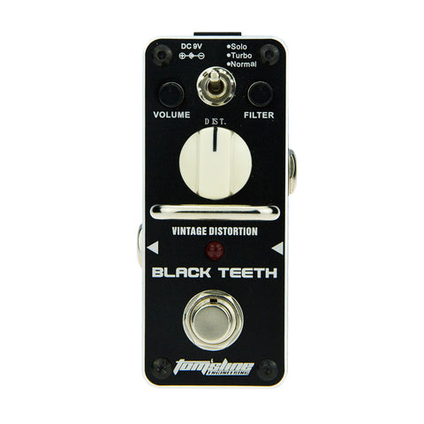 Aroma ABT-3 Black Teeth Distortion Effect Pedal