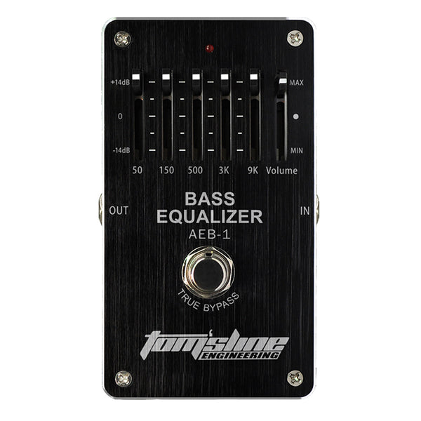 Aroma AEB-1 Bass 5-Band EQ Equalizer Effect Pedal