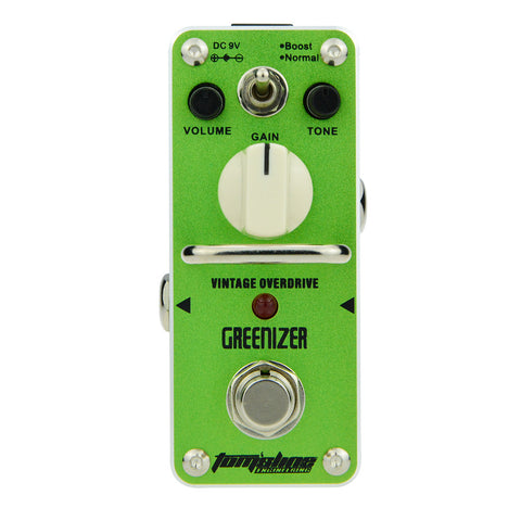 Aroma AGR-3 Greenizer Overdrive Analogue Effect Pedal