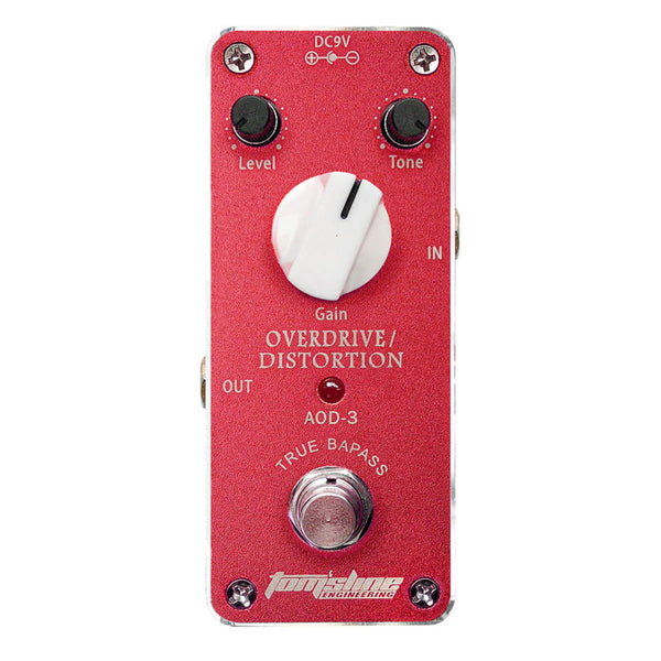 Aroma AOD-3 Overdrive Distortion Analogue Effect Pedal