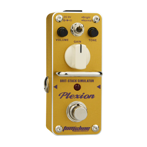 Aroma APN-3 Plexion British Sound Distortion Effect Pedal