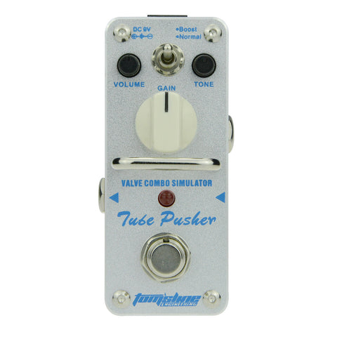 Aroma ATP-3 Tube Pusher Simulator Overdrive Effect Pedal