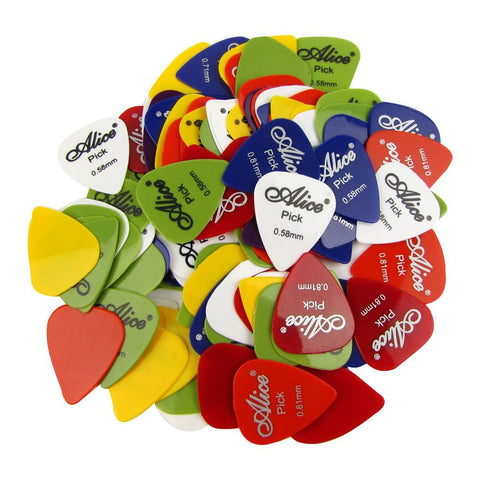 Alice 100P 100pcs Guitar Picks