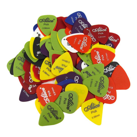 Alice 100Q 100pcs Guitar Picks