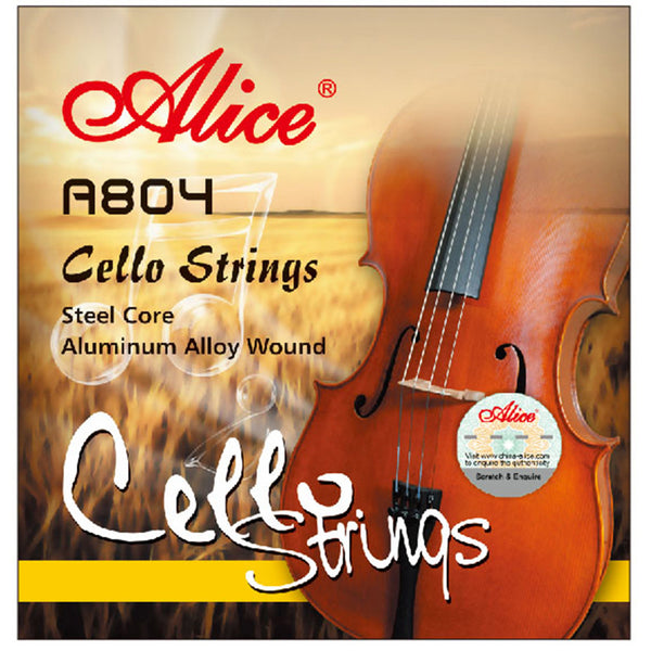 Alice A804 Cello Strings Aluminum Alloy Wound