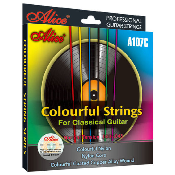 Alice A107C Colorful Classical Guitar Strings