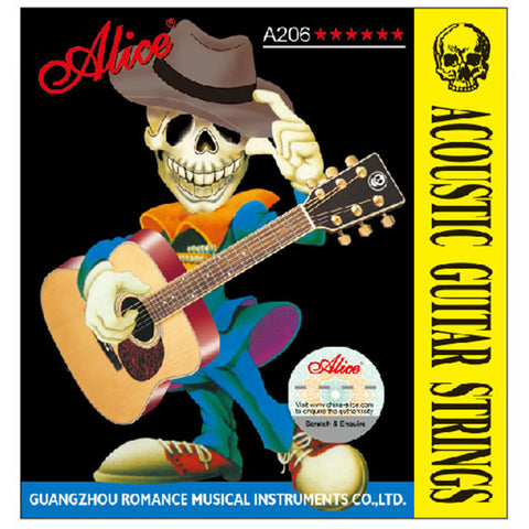 Alice A206 Acoustic Guitar Strings 011