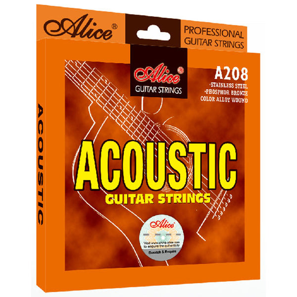 Alice A208 Acoustic Guitar Strings