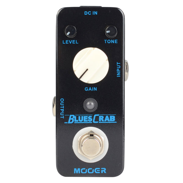 Mooer MBD1 Blues Crab Overdrive Effect Pedal