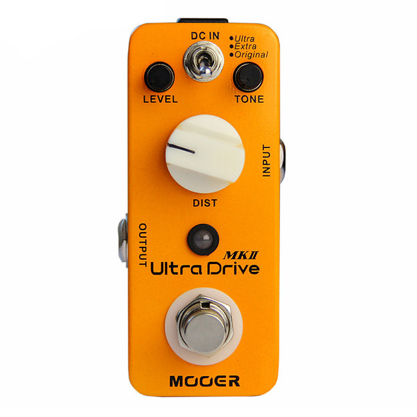 Mooer MDS6 Ultra Drive MKII Distortion Effect Pedal