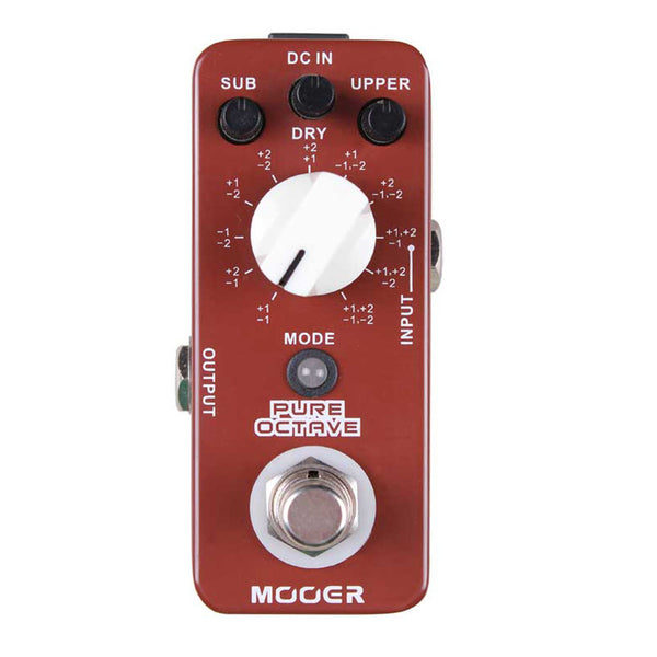 Mooer MOC1 Pure Octave Effect Pedal