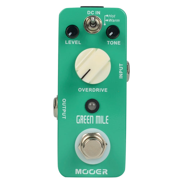 Mooer MOD1 Green Mile Overdrive Effect Pedal