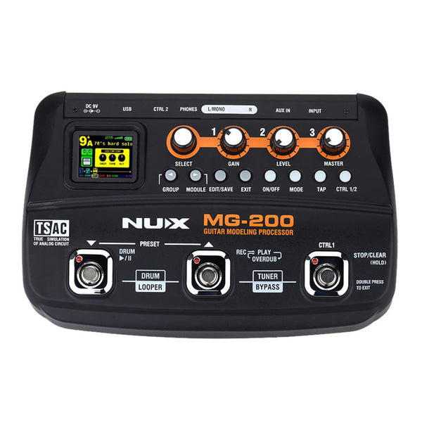 NUX MG-200 Modulation Delay Effect Pedal