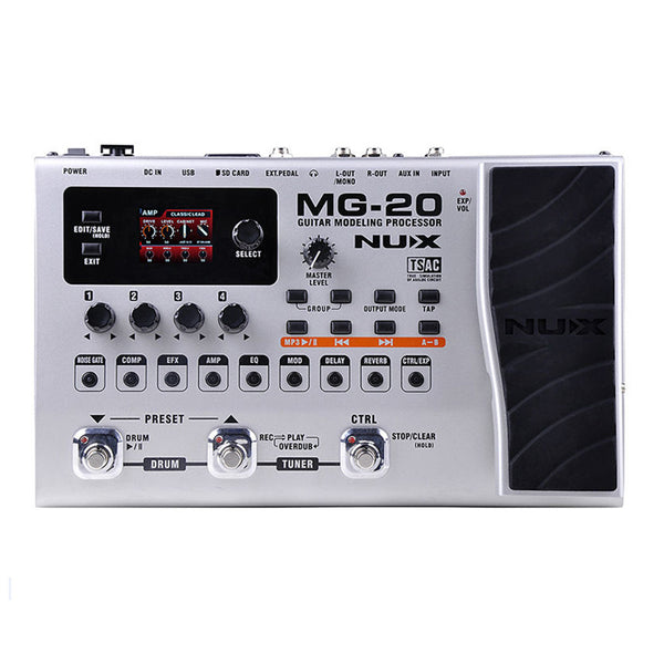 Nux MG-20 Modulation Delay Effect Pedal