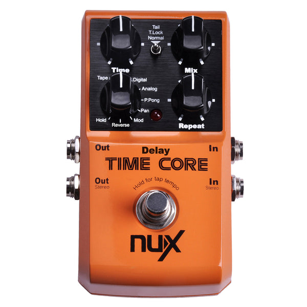 Nux Time Core Digital Delay Effect Pedal