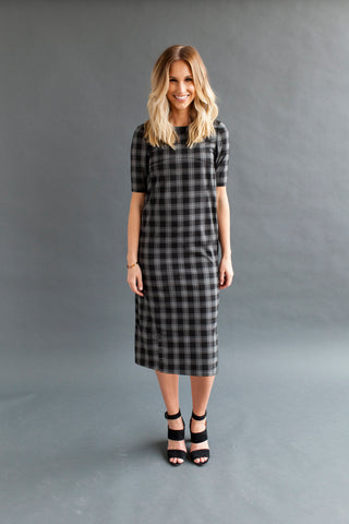 Shift Nursing Dress - Tall - Black