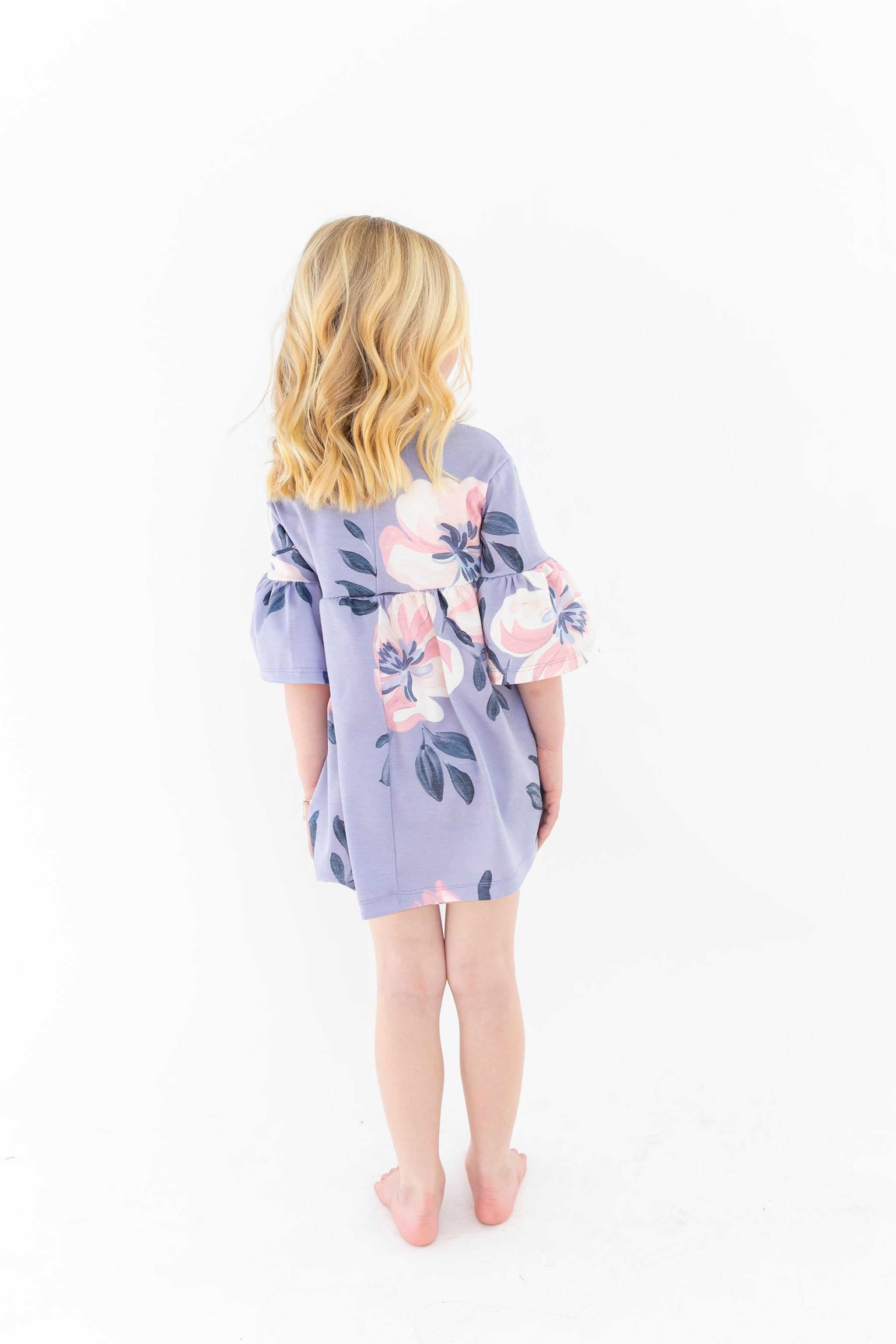 MINI - Caitlin Wilson Floral - Ruffle Bell Dress