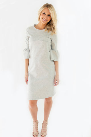 Petal - Bell Sleeve Nursing Dress