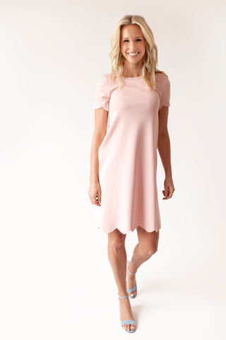 SECOND - Petal - Scalloped Nursing Dress