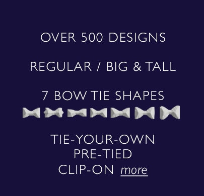 Bow tie style shape