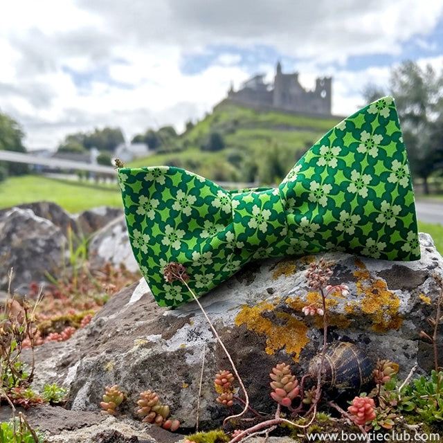 Green Clover Bow Ties