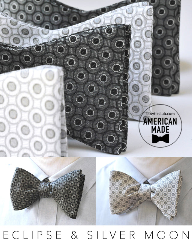 Black and White Formal Bow Ties