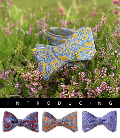 Paisleys Bow Ties