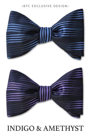 Indigo Bow Ties