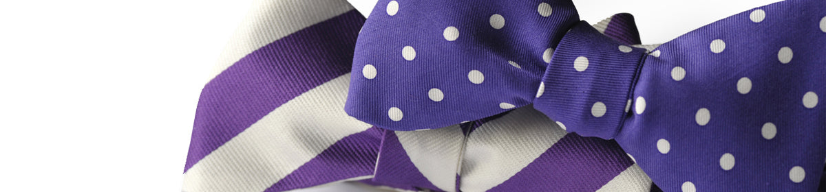 Bow Ties Purple