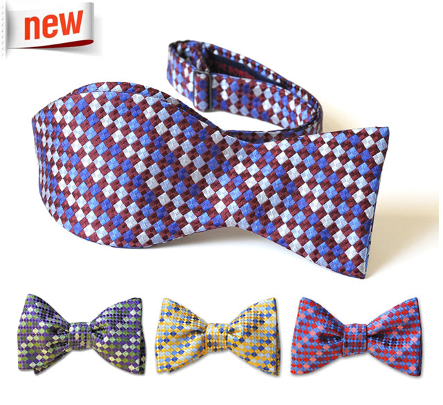 Mosaic Collection Bow Ties