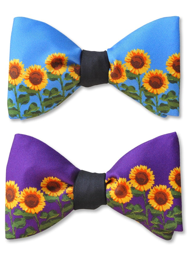 Vincent Sunflower Bow Ties