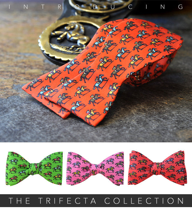 Trifecta Horse Bow Ties