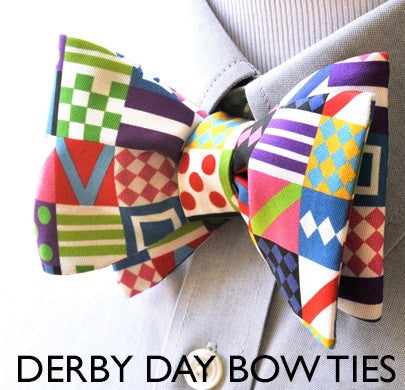 Derby Day Bow Ties 2018