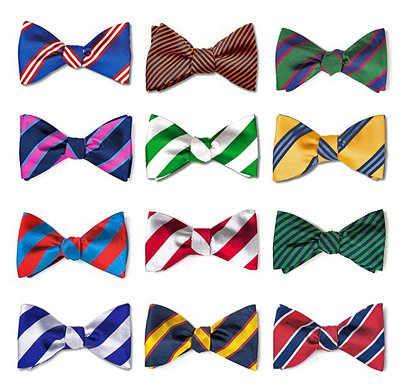 Stripes Bow Ties