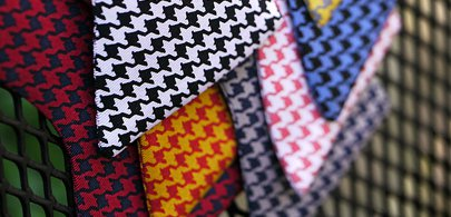 bow tie houndstooth
