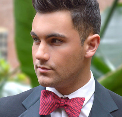 Tribeca Red Bow Tie