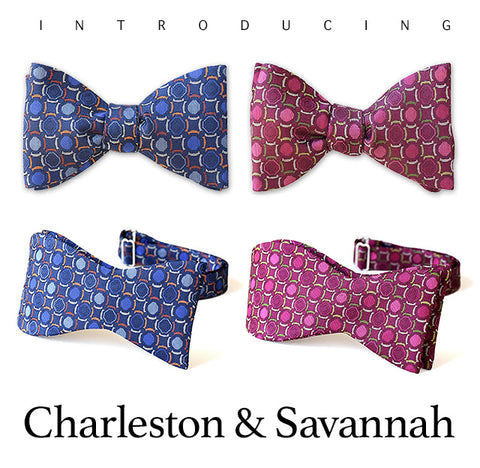 Charleston and Savannah Bow Ties