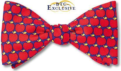 Apples Orchard Bow Ties | American Made Bow Ties | Adam