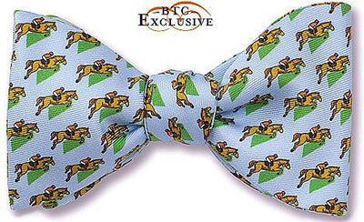 Horse Race bow tie Ambrose