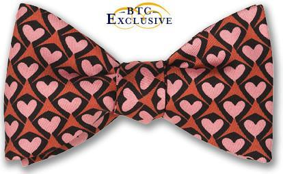 Heart bow tie Amore