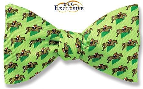 Steeplechase Derby Bow Tie